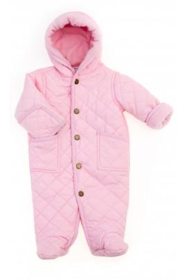 Jasno różowy kombinezon niemowlęcy, Polo Ralph Lauren