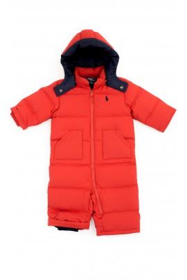 Czerwony kombinezon niemowlęcy, Polo Ralph Lauren