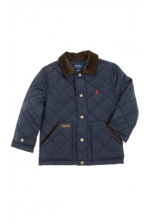 Granatowa kurtka chłopięca przejściowa, Polo Ralph Lauren
