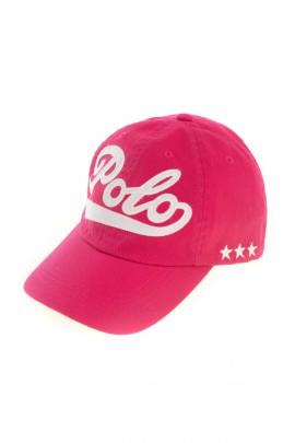 Różowa czapka z daszkiem, Polo Ralph Lauren