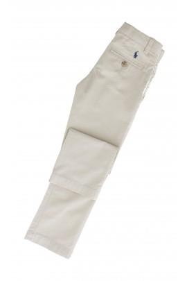 Beżowe eleganckie spodnie, Polo Ralph Lauren