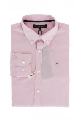 Różowa koszula, Tommy Hilfiger