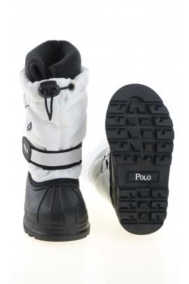 Biało-czarne śniegowce, Polo Ralph Lauren