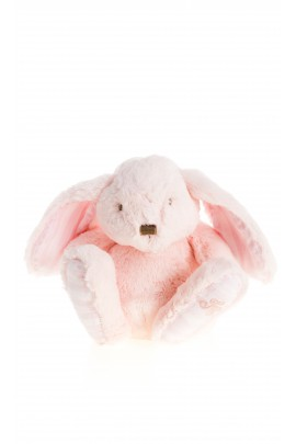 Różowa maskotka królik 25cm, Tartine et Chocolat