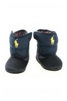 Kozaczki - śniegowce niemowlęce granatowe, Polo Ralph Lauren