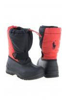 Śniegowce czarno czerwone, Polo Ralph Lauren