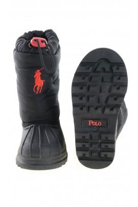 Czarne śniegowce, Polo Ralph Lauren