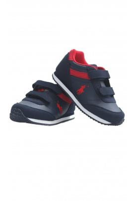 Buty sportowe granatowo czerwone, Polo Ralph Lauren