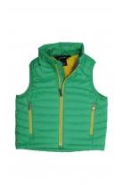 Zielono żółty bezrękawnik dziewczęcy, Polo Ralph Lauren