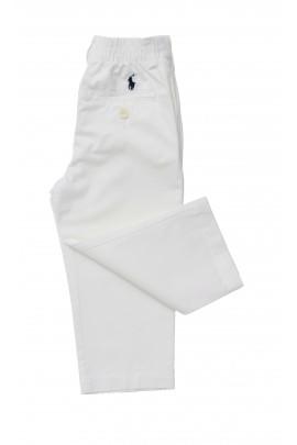 Białe spodnie chłopięce, Polo Ralph Lauren