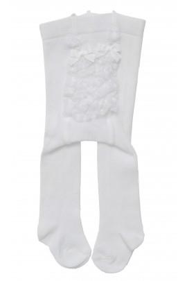 Białe rajstopki bawełniane, Story Loris