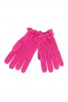 Różowe rękawiczki dziewczęce, Polo Ralph Lauren