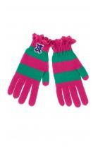 Rękawiczki różowo zielone, Polo Ralph Lauren