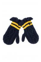 Granatowe rękawiczki niemowlęce, Polo Ralph Lauren