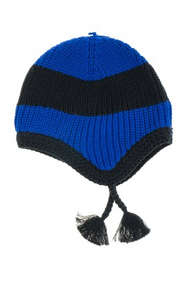 Czapka niebiesko czarna, Polo Ralph Lauren