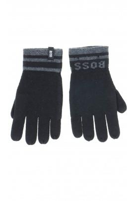 Rękawiczki czarne. Hugo Boss