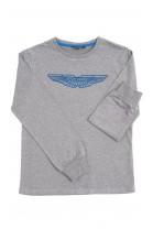Szary t-shirt chłopięcy, Aston Martin