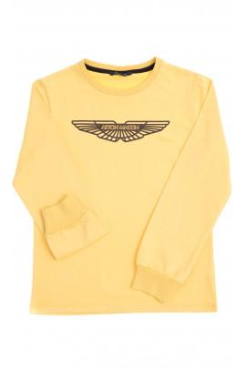 Żółty t-shirt chłopięcy, Aston Martin
