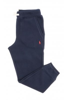 Granatowe spodnie dresowe chłopięce, Polo Ralph Lauren