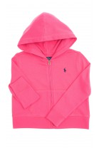 Ciemno różowa bluza z kapturem, Polo Ralph Lauren
