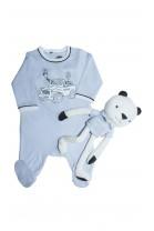 Niebieski zestaw niemowlęcy, Hugo Boss