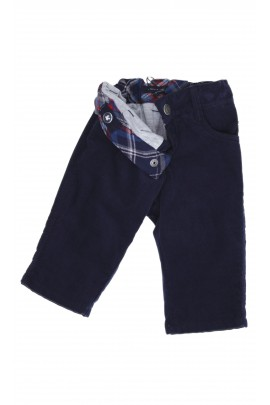 Granatowe spodnie sztruksowe, Tommy Hilfiger