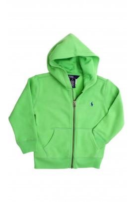 Bluza zielona z kapturem, Polo Ralph Lauren