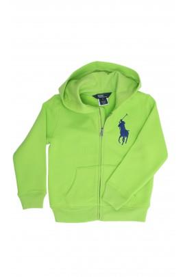 Zielona bluza z kapturem, Polo Ralph Lauren