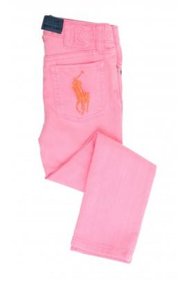 Spodnie różowe, Polo Ralph Lauren