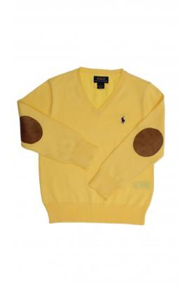 Sweter żółty, Polo Ralph Lauren