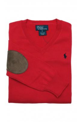 Sweter czerwony, Polo Ralph Lauren
