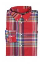 Koszula czerwoną w kratkę, Polo Ralph lauren