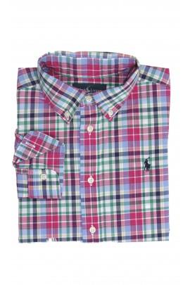 Koszula w kolorową kratkę, Polo Ralph lauren