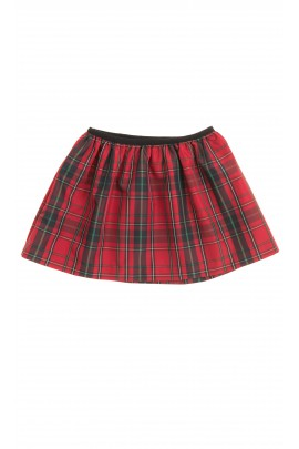 Spódnica w czerwono-zieloną kratkę, Polo Ralph Lauren