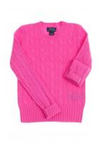 Różowy sweter kaszmirowy, Polo Ralph Lauren