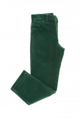 Zielone spodnie sztruksowe, Polo Ralph Lauren