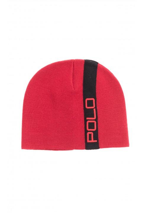 Czerwona czapka chłopięca, Polo Ralph Lauren