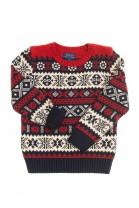 Sweter chłopięcy we wzory, Polo Ralph Lauren