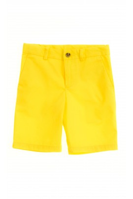 Żółte krótkie spodenki, Polo Ralph Lauren