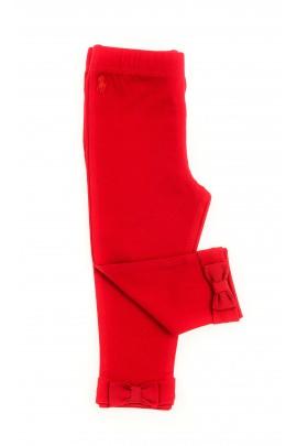Czerwone legginsy dziewczęce, Polo Ralph Lauren