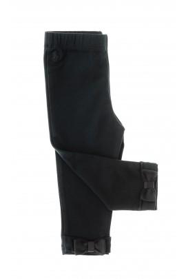 Czarne legginsy dziewczęce, Polo Ralph Lauren