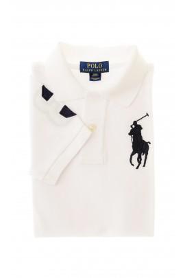 Biała polówka chłopięca, Polo Ralph Lauren