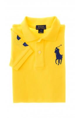 Żółta polówka chłopięca, Polo Ralph Lauren