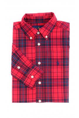 Czerwona koszula w kratkę, Polo Ralph Lauren
