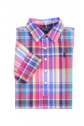Koszula w kratkę dziewczęca, Polo Ralph Lauren