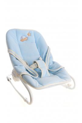 Fotelik niemowlęcy niebieski, Câlin-Câline