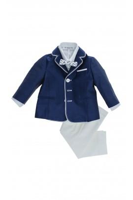 Niebiesko - biały garnitur, Colorichiari