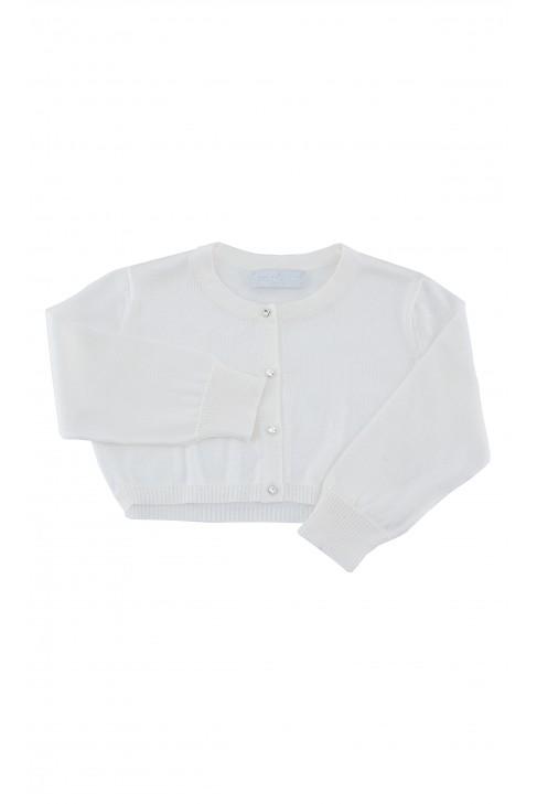 Milky white bolero jacket, Colorichiari