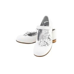 Białe pantofle dziewczęce, Gallucci