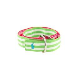 Girl's pink-and-green belt, Polo Ralph Lauren